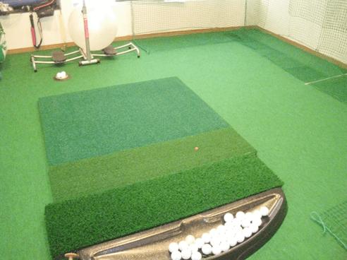 ゴルフ練習室