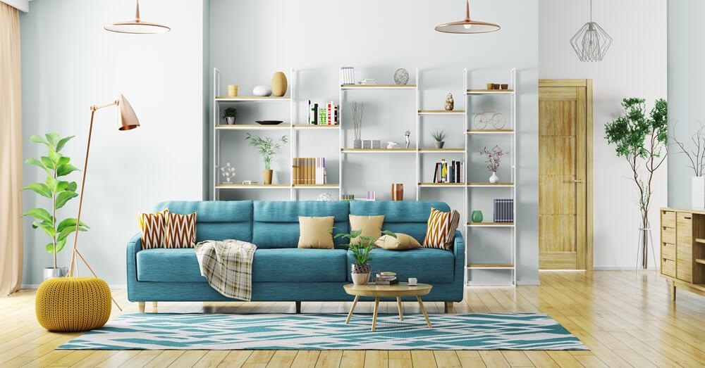 床や壁の色を工夫したリフォーム