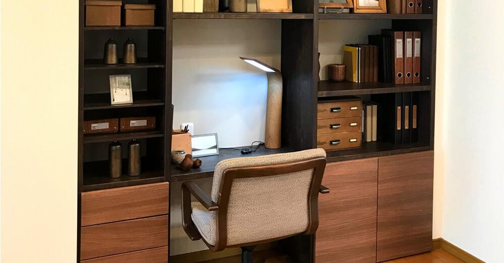 リフォームでつくる書斎スペースのイメージ