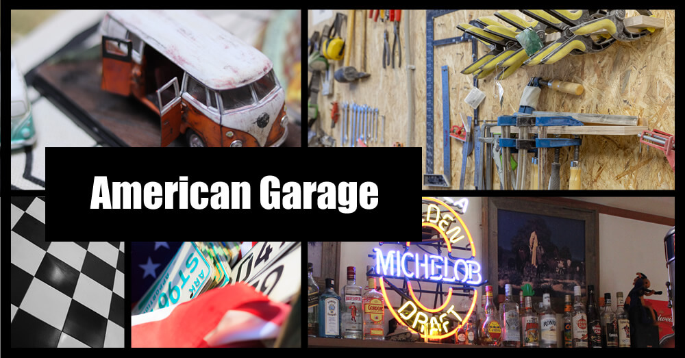 アメリカンなガレージへリフォーム