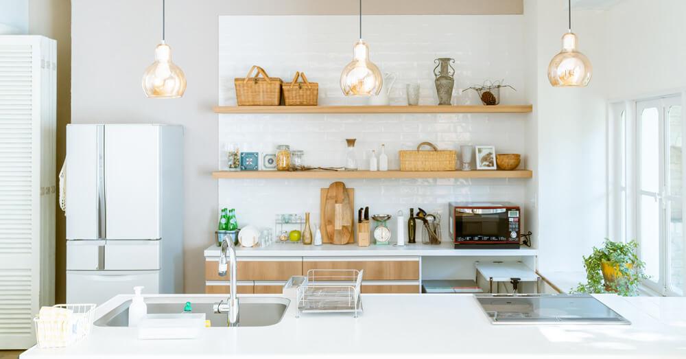 リノベーションでつくるキッチンのイメージ