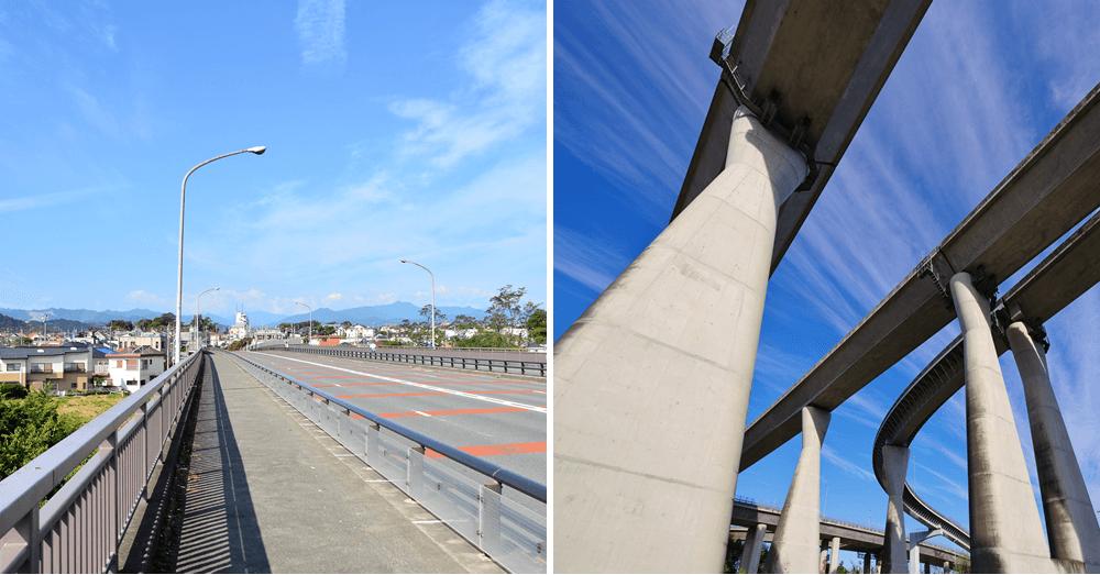 圏央道(あきる野)と福生