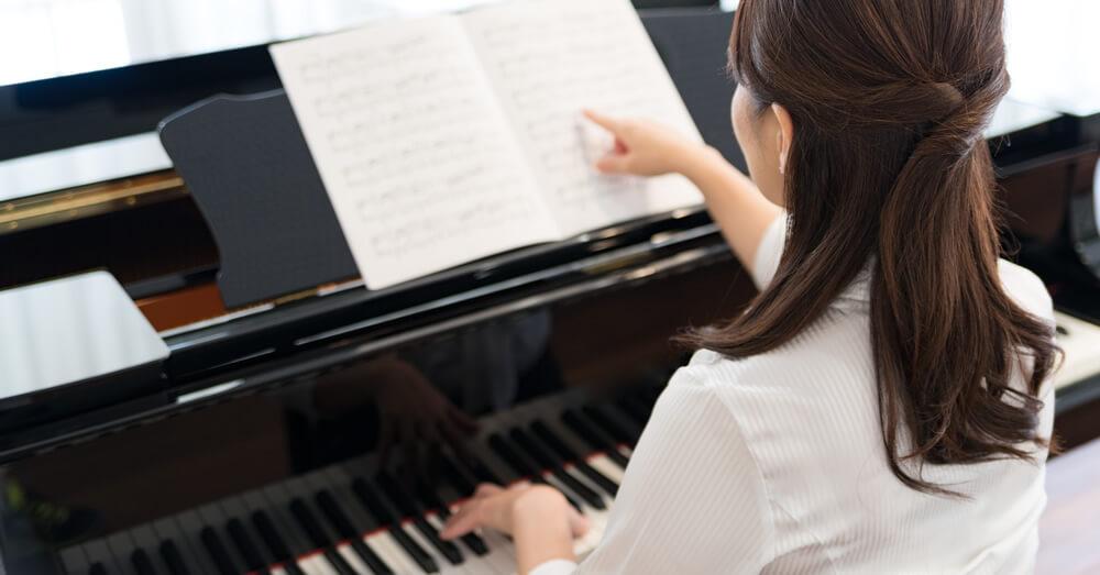 ピアノレッスンができる家