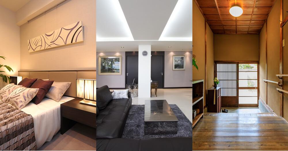 エレガント、スタイリッシュ、和のデザインの注文住宅